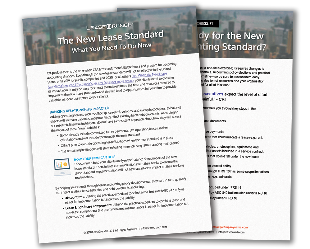 The New Lease Standard: What You Need to Do Now